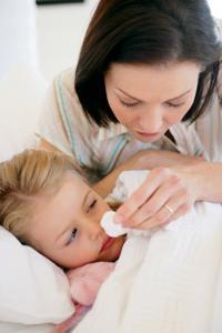 Течение гриппа у детей